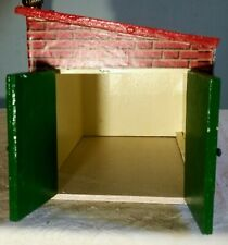 Vintage 1960's Dolls House Garage With Outside Privey Perfect For Quiet Moments!