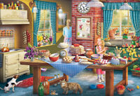 NEW! Gibsons Sneaking a Slice 500 piece nostalgic jigsaw puzzle G3116