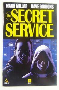 Icon SECRET SERVICE (2012) #1 1st KINGSMAN Mark MILLAR NM- (9.2) SHIPS FREE!