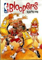 1 Lot Of 5 NBA Bloopers New Sealed DVD FREE SHIPPING