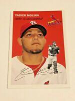 2012 Topps Archives Baseball Base Card #14 - Yadier Molina - St. Louis Cardinals