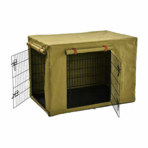 Pet Crate Cover - Extra Large Pet Cover Polyester Wire Cage M1