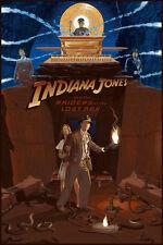 Laurent Durieux Indiana Jones Raiders of the Lost Ark Movie Poster Print Mondo