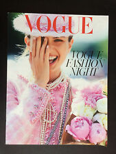 french magazine VOGUE PARIS FASHION NIGHT OUT N°950 andreea diaconu 2014
