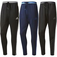 adidas MEN'S 3 STRIPE CONDIVO 16 TRACK PANTS BOTTOMS TRACKIES ESSENTIALS BLACK
