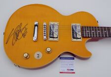 "SLASH GUNS N' ROSES SIGNED EPIPHONE ""AFD"" GUITAR PSA COA AD48005"
