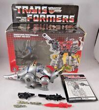 Transformers G1 Dinobot Sludge. Takara / Hasbro 1985. 100% Complete in Box