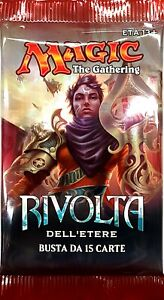 Envelope From 15 Cards Magic The Gathering Revolt Dell' Ether IN Italian