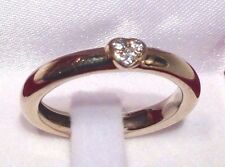 Bague de créateur Diamants Or blanc 18K T56 Diamonds Gold designer ring 1 euro !