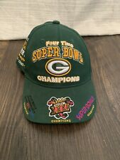New listing Green Bay Packers Four Times Super Bowl Champions Adjustable Hat NFL