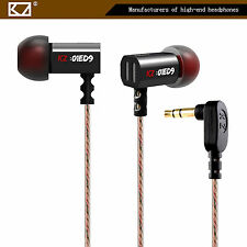 High-End In Ear Kopfhörer KZ-ED9 Schwarz Professional In-Ear Ohrhörer Premium
