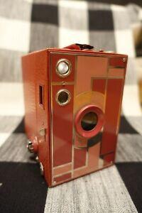 Kodak Beau Brownie No. 2a - Rose Very Pretty