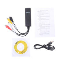 USB 2.0 Easycap Capture 4 Channel Video DVR TV DVD VHS Capture Adapter Ca ZH