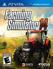 Farming Simulator 14 (Sony PlayStation Vita, 2014) Complete!