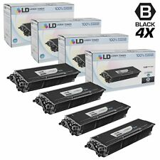 LD Compatible Brother TN650 Set of 4 High Yield Black Laser Toner