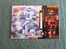 1998 UpperDeck Constant Threat BRONZE-UNNUMBERED /25 ERROR Michael Irvin Cowboys