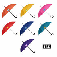 BTS BT21 Official Goods Automatic Long Umbrella Emblem 880mm or 930mm + Express