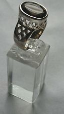JEWELLERY 925 Sterling Silver and Smoky Quartz Ring