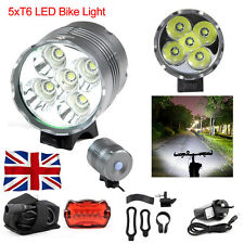 7000LM High Power 5 X CREE XM-L Front Bicycle Bike Light Lamp Headlamp Headlight