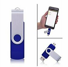 USB 2TB MEMORY CARD OTG Flash Drive Stick BLUE - ( x 1TB x 512GB x 256GB )