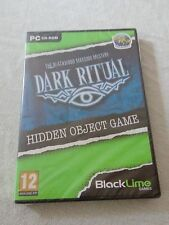 Jeu PC THE BLACKWOOD MANSION MYSTERY DARK RITUAL neuf sous blister