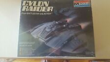 Monogram Model Cylon Raider kit #6026 age 10-adult unopened box from 1978