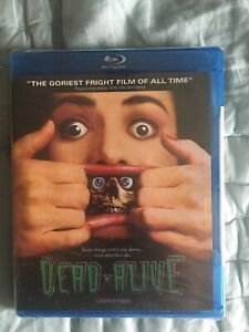 Peter Jackson's Dead Alive Braindead Blu-ray Dvd Horror Film OOP SEALED NEW USA