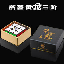 YuXin HuangLong 3x3x3 Speed Contest Magic Cube Twist Puzzle Toys Black