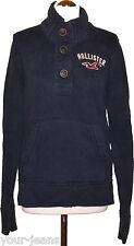 Hollister  Pullover  Gr. S  Blau  Hoodie  Sweatshirt  Used Look
