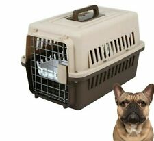 Pet Transport Box Small Puppy Dog Cat Air Plane Breathable Travel Carrier Cage