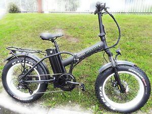 500w Fat tyre folding electric bike