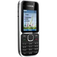 NOKIA C2-01 TASTEN-HANDY QUAD-BAND MOBILE PHONE BLUETOOTH KAMERA MP3 WIE NEU BOX