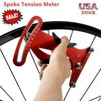 Aluminum Bicycle Repair Tools Bike Spoke Tension Meter Measures For Bike Repair