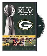 NFL Super Bowl Champions 45 XLV 45 Green Bay Packers [DVD] NEU