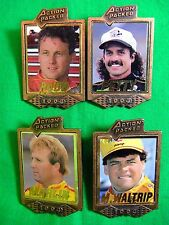 Rare Unreleased 1994 Action Packed Racing Promo Metal Pin Set of 4 Petty Marlin