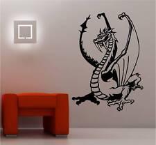 Dragon autocollant Art Mur Décalques en vinyle chambre d'enfant