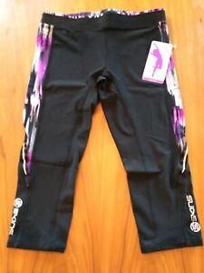 SKINS women active A200 3/4 compression tights L