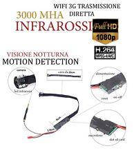 Spy Camera Spia WIFI HD NIGHT VISION MOTION DETECTION TELECAMERA NASCOSTA CW151