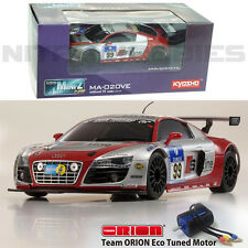 Kyosho MINI-Z AWD MA-020VE Audi R8 LMS Phoenix Racing NBR 2010 #99 Touring Car