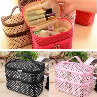 Travel Handbag Toiletry Cosmetic Makeup Bag Organizer Storage Pouch Purse Women