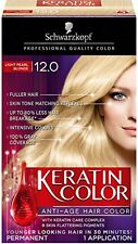 Schwarzkopf Keratin Anti-Age Hair Color Kit, Light Pearl Blonde [12.0] 1 ea