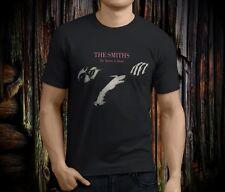 THE SMITHS  The Queen is Dead Rock Legend Men's Black T-shirt Size S-3XL