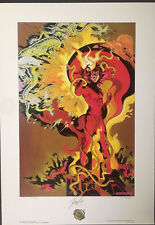 Majestic Mephisto Limited Edition Lithograph 2423/2500 Signed by Stan Lee