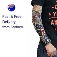 7b279644b Fish Art Tattoo - Temporary Tatoo Sleeve Arm Design - Dragon style fake temp  tat