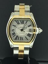 Cartier Roadster Large Ref. W62031Y4 18k Yellow Gold & Stainless Steel Automatic