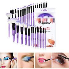 32Pcs Makeup Brushes Tools Eyeshadows Eyeliners Face Lip Brush Purple Brush Tool