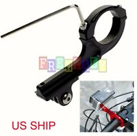 Bike Bicycle Metal Alloy Handlebar Mount Holder Clamp For Gopro 2/3/3+/4 Camera