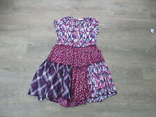 **AGE 10 GIRLS LOVELY DRESS FROM MATALAN, PATCHWORK STYLE, LINED (9)**