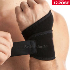 Wrist Support Wrap Strap Compression Hand Brace Thumb Protector Carpal Tunnel W