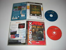 SPEC OPS 1 & 2 II Pc Cd Rom SO XPL -  Shooter FAST POST
